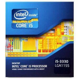 I5 3330 Intel core