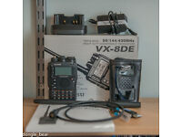 Yaesu VX8 with GPS Microphone and Extras
