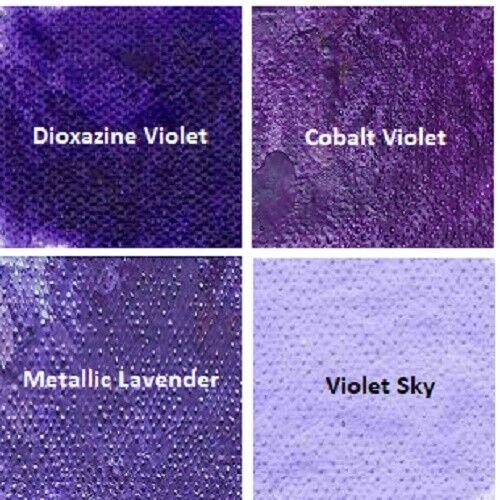 The Ultimate Encaustic Violet Paint Set Wax Paint