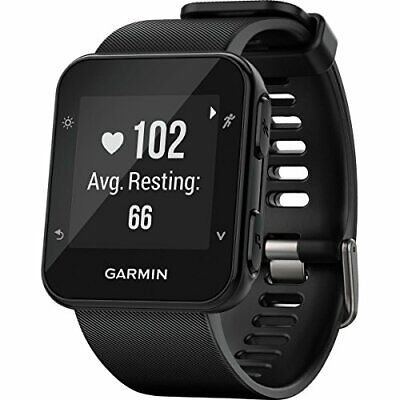 Garmin A02990 Forerunner 35 Black, One Size (Built-in GPS)
