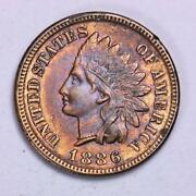 1886 Indian Head Penny