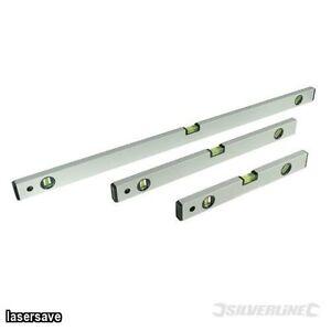Silverline-Builders-Level-Set-3pce-Spirit-Hand-Tools-Measure-Alignment-Line-Edge