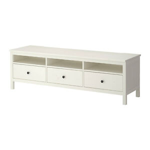 Ikea Hemnes White Stain TV Bench