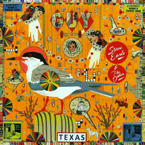Autographed STEVE EARLE & THE DUKES GUY (2LP Vinyl) Signed