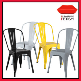 Replica Xavier Pauchard Tolix Dining Chairs Nerang Gold Coast West Preview