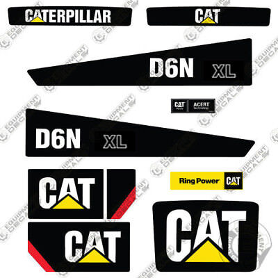 Caterpillar D6n Xl Decals Bulldozer Decals Tractor Decals 7 Year Vinyl
