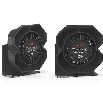 2 Pack Of Feniex Triton 100 Watt Emergency Siren Speakers