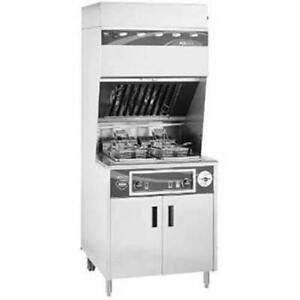$29,000 wells ventless double fryers for only $12,500! Avoid big expense on hood / fire Supression! Save $$$ thousands!