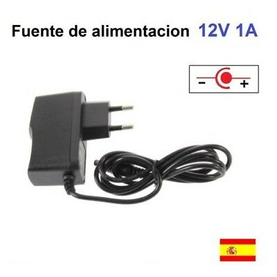 Fuente de alimentacion 12V 1A Adaptador AC 100V/240V DC 5.5mm x 2.1mm