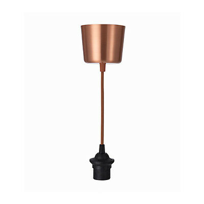IKEA HEMMA Copper-Colour Ceiling Pendant