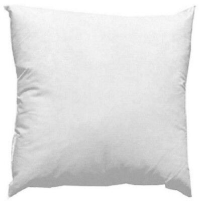 New 14 x 14 Inch Square Fiber Fill Pillow Forms Insert Made in -