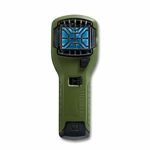 Thermacell MR300 Portable Mosquito Repeller, Olive Green; Contains Fuel Cartr...