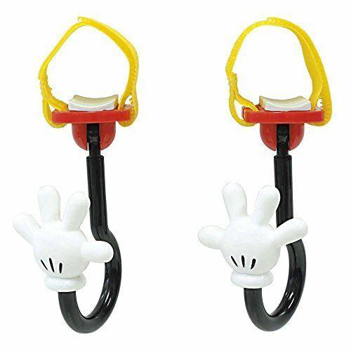 Naporekkusu Disney stroller hook Mickey-hand 360-degree rotation slip with BD-10