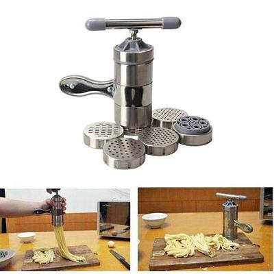 الة صنع المعكرونة جديد Kitchen Stainless Steel Pasta Noodle Maker Press Spaghetti Machine Juicer