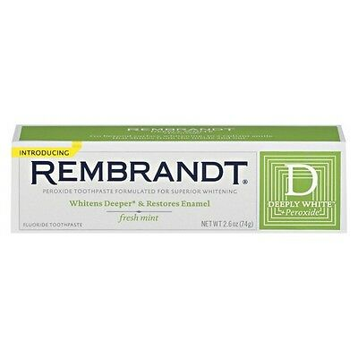 Rembrandt® Deeply White™  Peroxide Fluoride Toothpaste Fresh Mint 2...