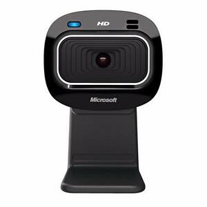 Microsoft LifeCam HD-3000 Webcam - Black