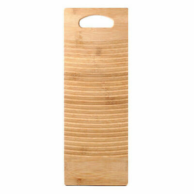 Bamboo Washboard Thicken Wood Washing Board Wash Clean Home Laundry Clothes