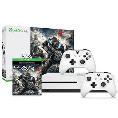 $299.99 - Microsoft Xbox One S Gears of War 4 Bundle (1TB) + Xbox Wireless Controller