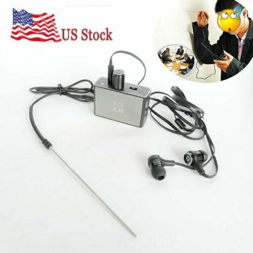 Enhanced Version Wall Microphone Voice spy Bug Ear Listen Through Wall Device