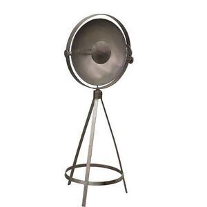 Ren-Wil LPF3006 Radcliffe 1 Light Floor Lamp in Nickel-NEW