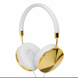 Frends Taylor G/W Taylor Headphones, Gold and White- BNIB