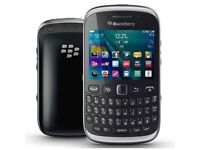 BlackBerry Curve 9320 Black Unlocked Smartphone - Brand new, never used, just chase opened