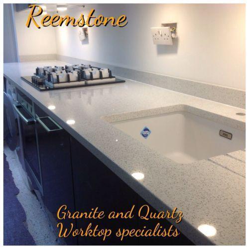 Kitchen Worktops Quartz V Granite: Quartz Worktop: Kitchen Units & Sets