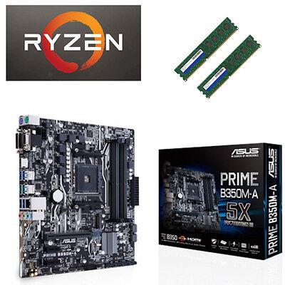 Bundle AMD Ryzen 7 1700 8x3,70GHz+16GB DDR4+USB3.1/ ASUS Mainboard