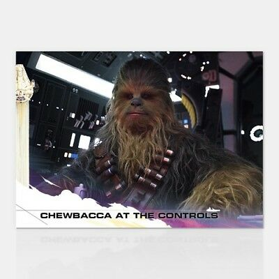 CHEWBACCA AT THE CONTROLS - COUNTDOWN TO SOLO: A STAR WARS STORY - CARD 23