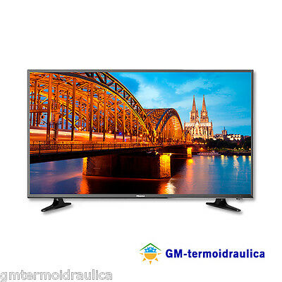 Tv Televisore LED 39 Pollici Hisense FULL HD 800 hz 3 HDMI Digitale Terrestre 40