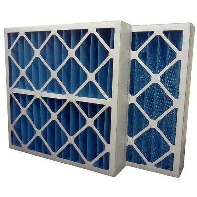 (3) Filters 16x25x4 MERV 8 Furnace Air Conditioner Filter - Made in USA ()