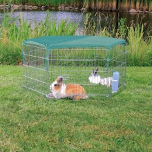 Trixie Net with Sun Protection for Rabbit Run To Fit 6250/6253, 1.10 × 1.10 M