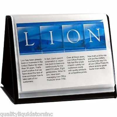Lion Flip-n-tell 40 Chart Display Book-n-easel 8.5x11 39008-h Qty 12 New