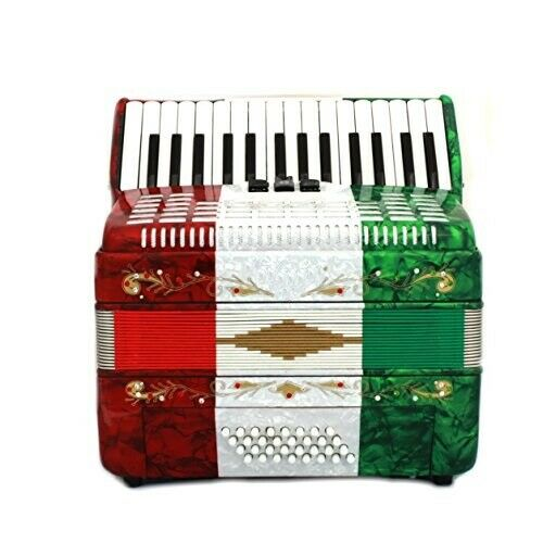 Goldstar Piano Accordion 32 Bass 30 Piano Keys 3 Switches