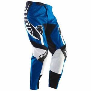 Motocross Pants Motorbike Nylons, Thor, Phase Spiral Blue Size 28 Camden South Camden Area Preview
