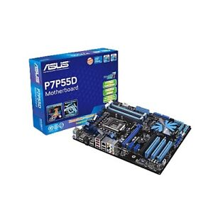 Asus P7P55D LGA1156 ATX Motherboard and Intel i5 750 Lynnfield