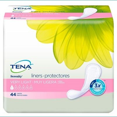 TENA Serenity ACTIVE Liners, Long (Case of 176), #