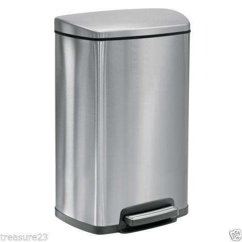Stainless Steel Trash Can Ebay