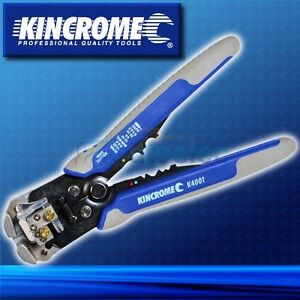 KINCROME AUTOMATIC CABLE WIRE STRIPPER & CRIMPING CRIMPER TOOL STRIPPING K4001