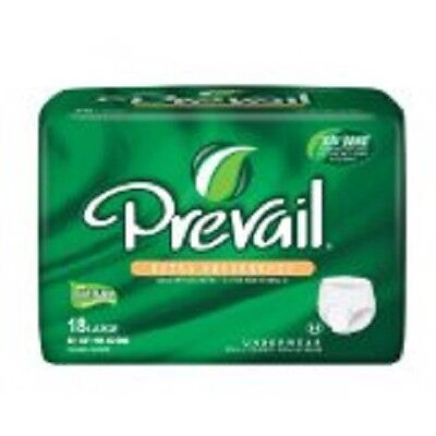 Prevail Extra Protective Underwear Large 72 pcs (4 pk of 18pcs)  (Prevail Extra Protective Underwear)