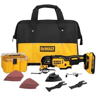 DeWALT DCS355D1 20V Max XR Li-Ion Cordless Oscillating Multi-Tool Tool Kit