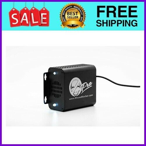 MouseBlocker Pro - Ultimate 12V Ultrasonic Mouse and Rodent with