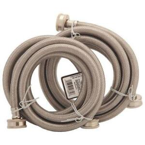 Partsmaster PMWSS-6 6 ft. Washer Hoses - 2 Pack (New Other)