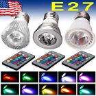 LED E27 9W RGB Light Bulbs