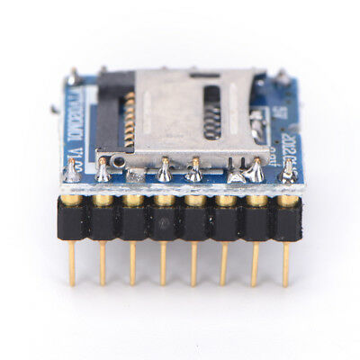 modulo vocale MP3 audio lettore audio TF card WTV020-SD-16P per Arduino_G sp
