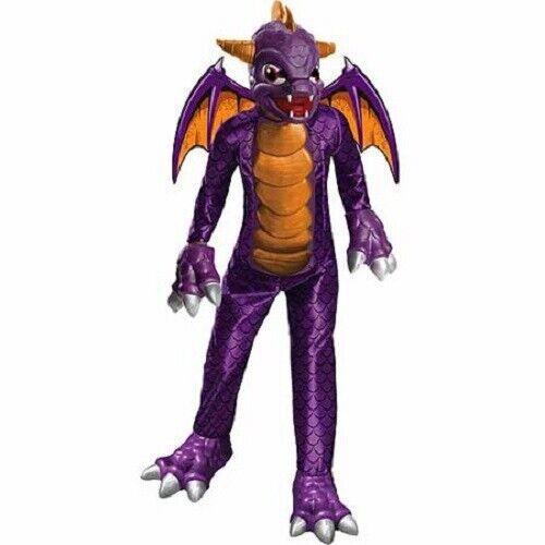 Deluxe Spyro Skylanders Halloween Costume size M 8 9 10 NWT