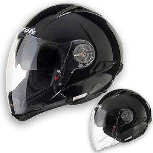 Modulare-Airoh-J105-Occhialino-Solare-Capacete-Helmet-CASQUE-MOTO-VARI-COLORI