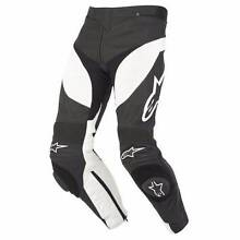 Alpinestars Track Black/White Leather Pants St Marys Penrith Area Preview
