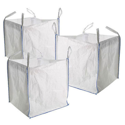 5 FIBC builders bags/ Storage Sacks for garden waste or storage