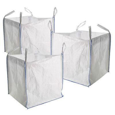 5 x 1 Ton FIBC builders bags/ Storage Sacks for garden waste/storage Jumbo Bags